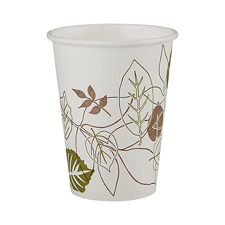 Dixie Pathways Paper Hot Cups, 12 oz, 500 ct (2342WS