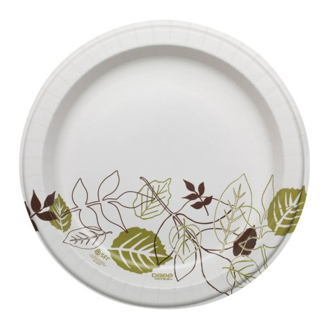 """Dixie Ultra Paper Plates, Heavyweight, 10.12"""" (500 ct.)"""