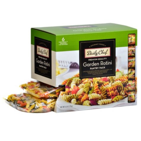 Daily Chef Garden Rotini Pantry Pack (1 lb., 6 ct.)