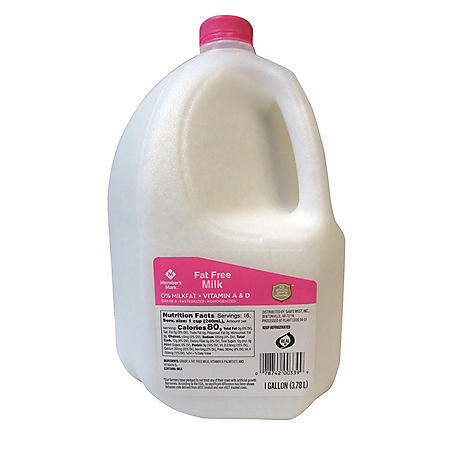 Member's Mark Fat Free Skim Milk (1 gallon)