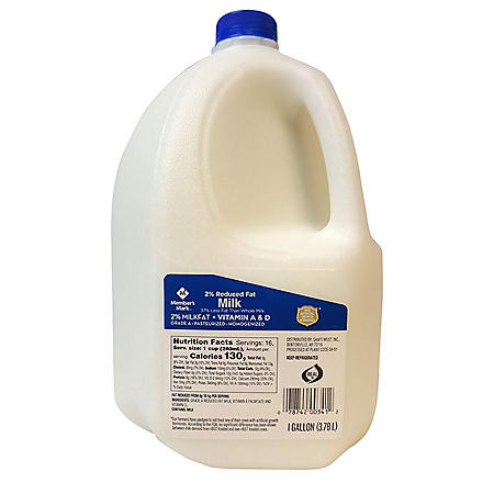 Member's Mark 2% Reduced Fat Milk (1 gallon)