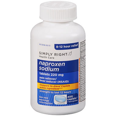 Simply Right™ Naproxen Sodium - 400 ct.