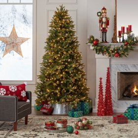 Douglas Fir Christmas Tree.Member S Mark 7 5 Douglas Fir Christmas Tree Sam S Club