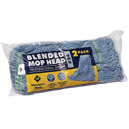 Member's Mark Commercial #24 Blended Mop Head (2 pk.)