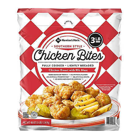 Member's Mark Southern Style Chicken Bites, Frozen (3 lbs.)