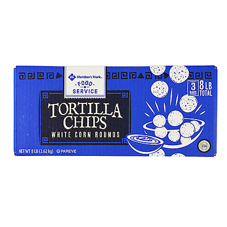 Member's Mark Round White Tortilla Chips (48 oz., 2 ct.)