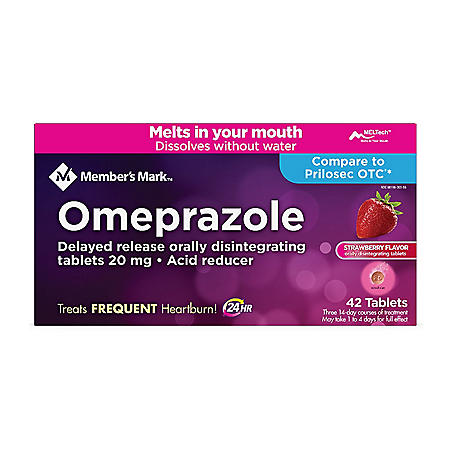 Member's Mark Omeprazole Orally Disintegrating Tablets, 20 mg (42 ct.)