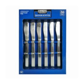 Daily Chef Stainless Steel Dinner Knife Set (36 ct.)