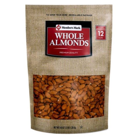Member's Mark Whole Almonds (48 oz.)