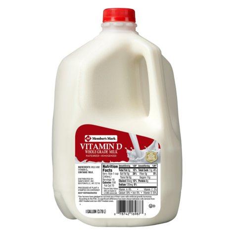Member's Mark Vitamin D Whole Milk (1 gal.)