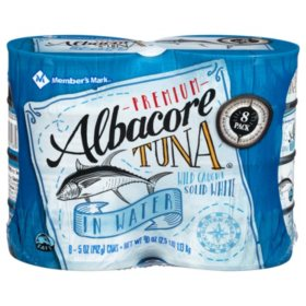Member's Mark Solid White Albacore Tuna (5 oz. ea., 8 pk.)