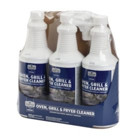 Member's Mark Commercial Oven, Grill and Fryer Cleaner (32 oz., 3 pk.)