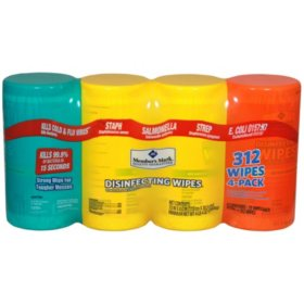 Member's Mark Disinfecting Wipes, Variety Pack (4 pk., 78 ct. each)