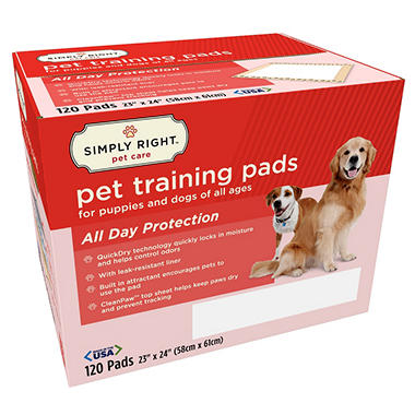 Simply Right Pet Training Pads, 23