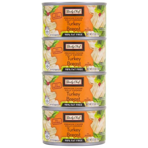 Daily Chef All Natural Turkey Breast (12.5 oz., 4 pk.)