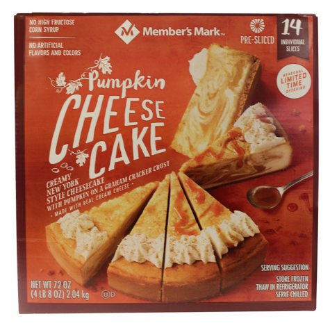 Daily Chef Pumpkin Cheesecake (3 lbs. 12 oz.)