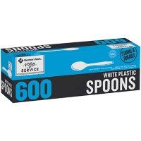 Member's Mark White Plastic Spoons (600 ct.)