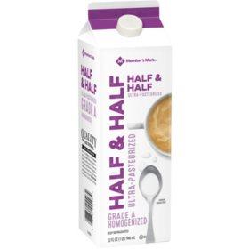 Member's Mark Half & Half (32 fl. oz.)