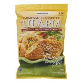 Member's Mark Parmesan Encrusted Tilapia (40 oz.)