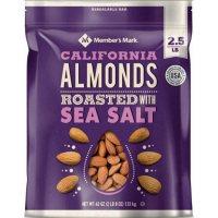 Member's Mark Roasted Almonds with Sea Salt (40 oz.)