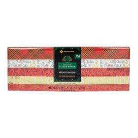 Member's Mark Premium Holiday Gift Tissue Paper