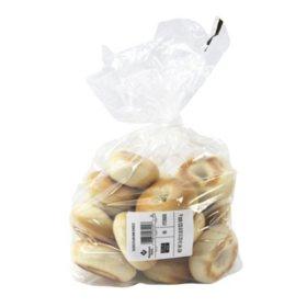 Member's Mark Mini Plain Sliced Bagels (16 ct.)