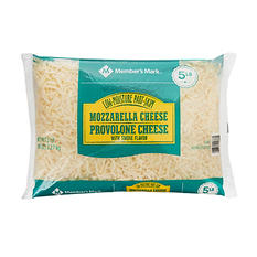 Member's Mark 50/50 Mozzarella/Provolone Blend Shredded Cheese (5 lbs.)