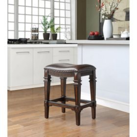 Member's Mark Carson Saddle Barstool