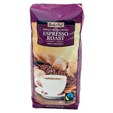 Daily Chef Fair Trade Espresso Whole Bean Coffee (40 oz.)