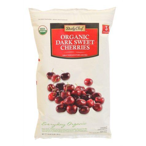 Daily Chef Organic Dark Cherries (3 lbs.)