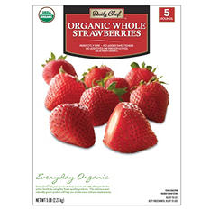 Daily Chef Organic Whole Strawberries (5 lbs.)