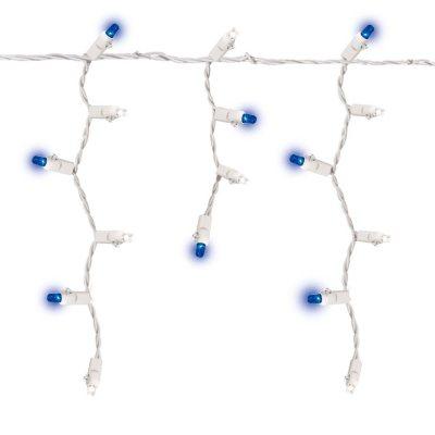 LEDKIA LIGHTING Cadena de 20 M/ódulos Cuadrados de 4 LEDs SMD5050 12V 1W Azul