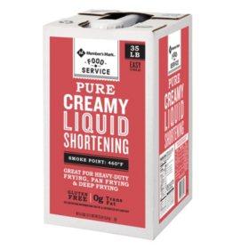 Member's Mark 100 % Pure Creamy Liquid Shortening (35 lbs.)