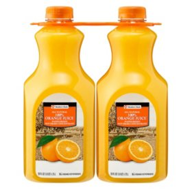 Member's Mark 100% Orange Juice (59 fl. oz. jug, 2 pk.)