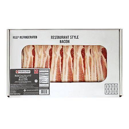 Member's Mark Restaurant Style Bacon (10 lbs.)