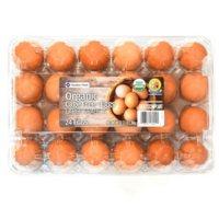Member's Mark Organic Cage Free Brown Eggs (24 ct.)