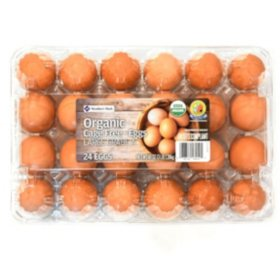Member's Mark Organic Cage Free Brown Eggs (24 ct.)