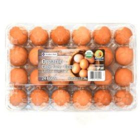 Organic Brown Eggs (24 ct.)
