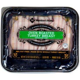 Member's Mark Oven Roasted Turkey Breast, Sliced (1 lb. 6 oz.)