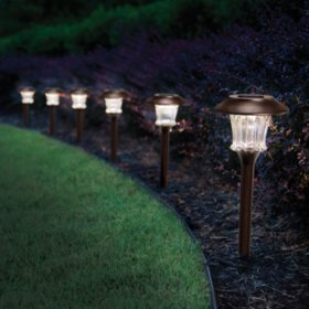 Solar Led Lights 6 Pk Sam S Club