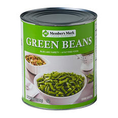 Member's Mark Green Beans (102 oz. #10 can)