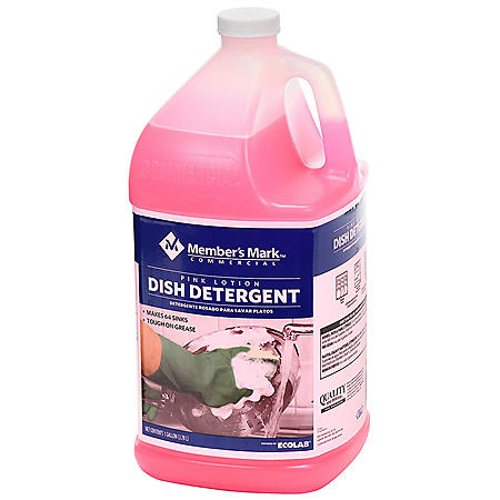 Member's Mark Commercial Pink Lotion Dish Detergent (128 oz.)