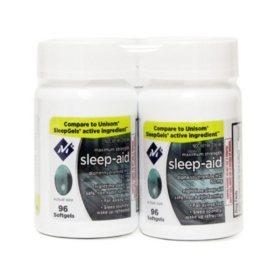 Member's Mark Sleep Aid Softgels (96 ct., 2 pk.)