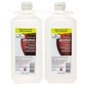 Member's Mark 91% Isopropyl Alcohol (32 fl. oz., 2 pk.)