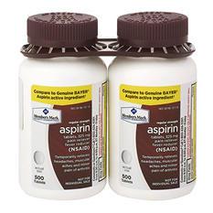 Member's Mark 325 mg Regular Strength Aspirin (1,000 ct.)