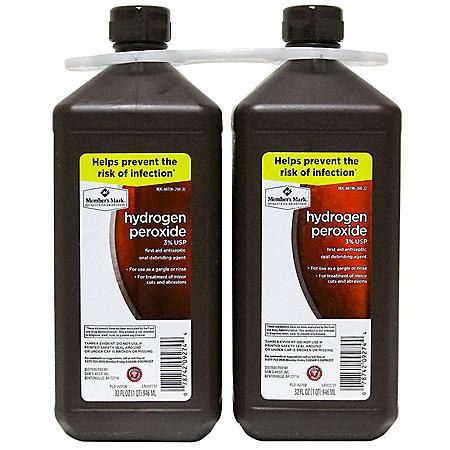 Member's Mark Hydrogen Peroxide (32 fl. oz, 2 pk.)