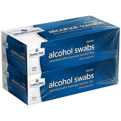 Member's Mark Alcohol Swabs (800 ct.)