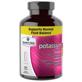 Member's Mark 99 mg Potassium Dietary Supplement (500 ct.)