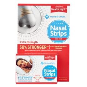 Member's Mark Extra Strength Nasal Strips, Tan (44 ct.)
