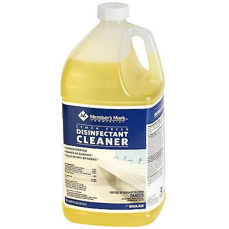 Member's Mark Commercial Lemon Fresh Disinfectant Cleaner (128 oz.)